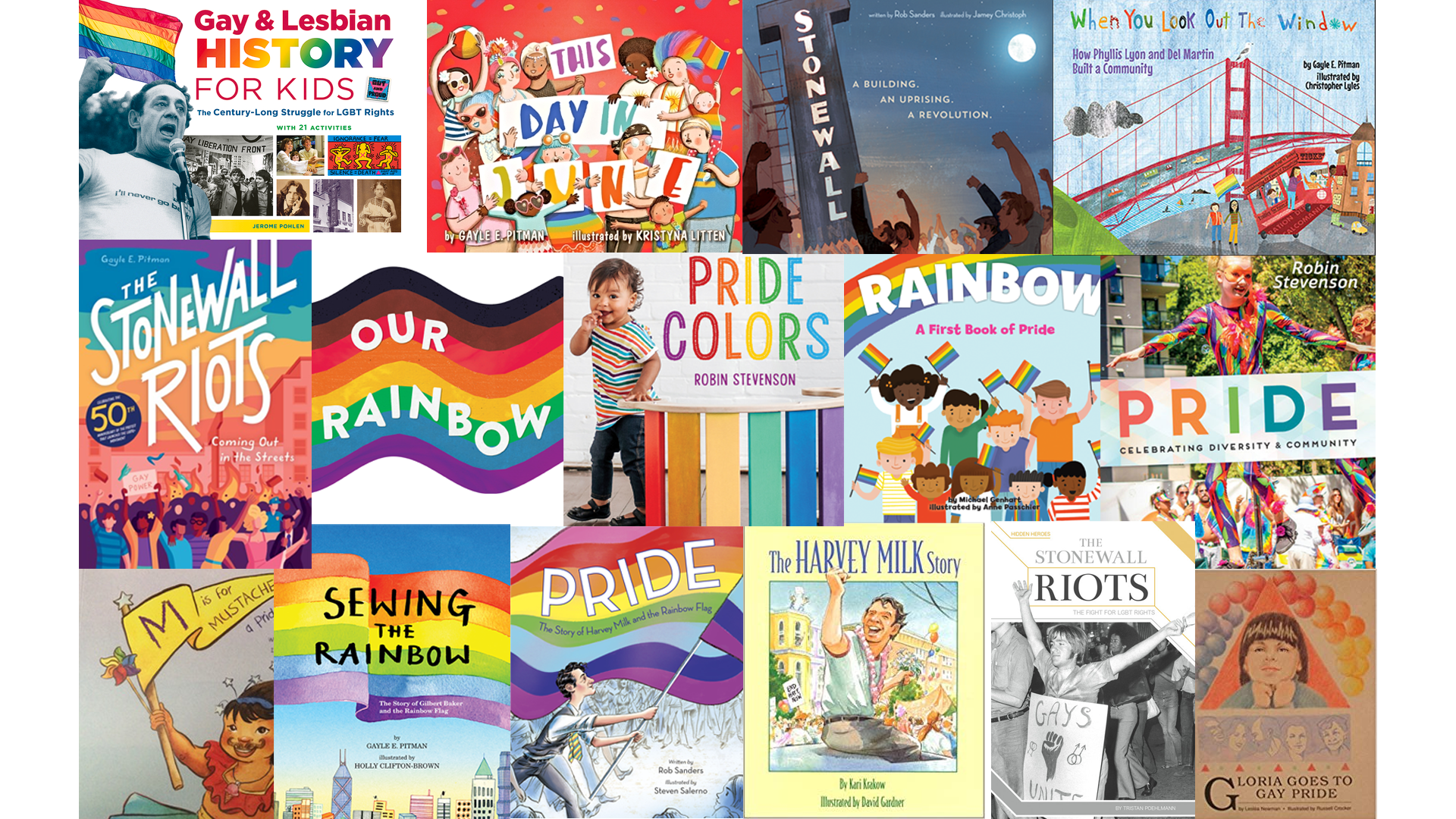 A Rainbow of Pride Books for Kids of All Ages - Mombian