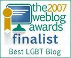2007 Weblog Award Finalist