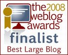 2008 Weblog Award Finalist